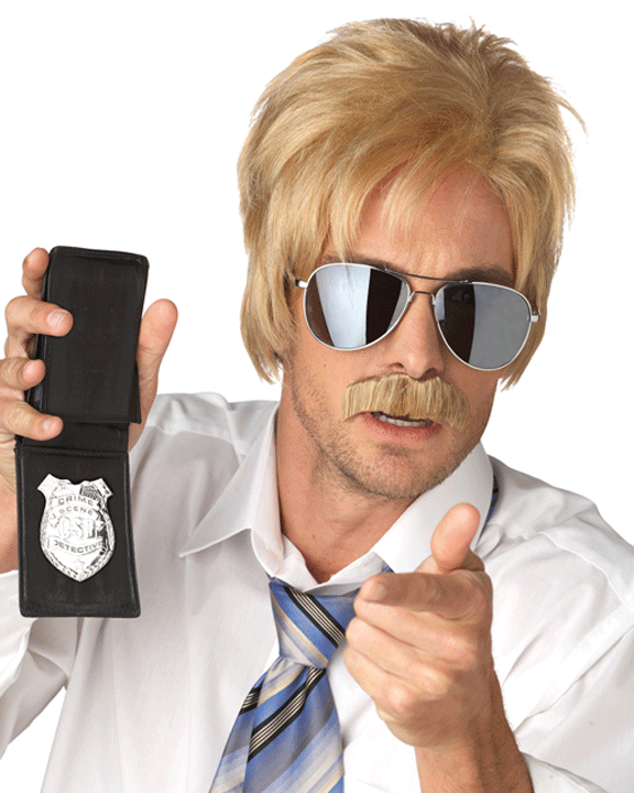9974a51456 Ace Detective 70s Blonde – MaxWigs