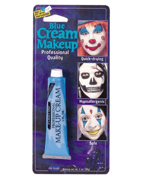 Morris Makeup Tube Pro Blue - MaxWigs