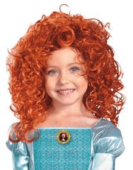 Morris Brave Merida Child Wig - MaxWigs