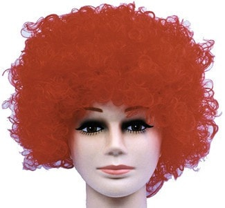 Morris Wig Curly Clown Red Budget - MaxWigs