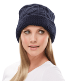 Jon Renau Cable Knit Bucket Hat - MaxWigs