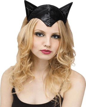 Morris Cat Adult Headband & Tail - MaxWigs