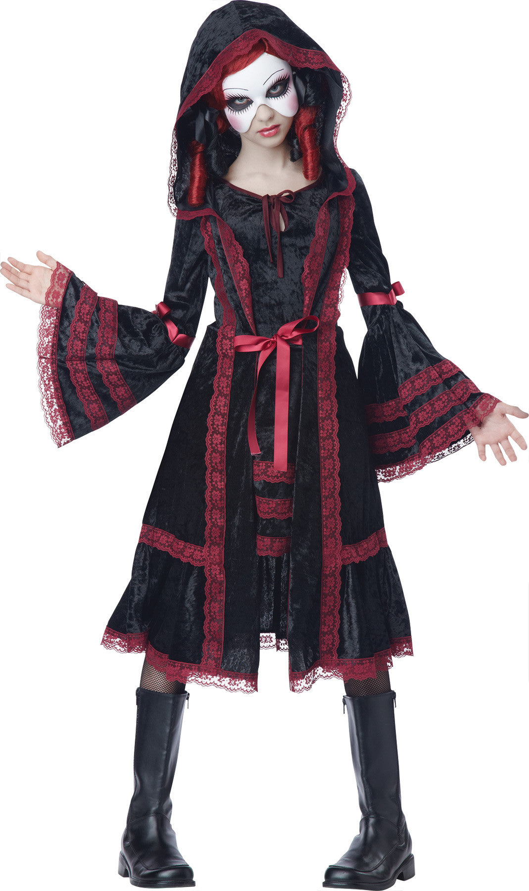 Gothic Doll Child Xl 12-14
