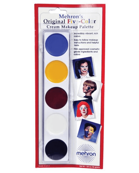 Morris Color Makeup Palette - MaxWigs