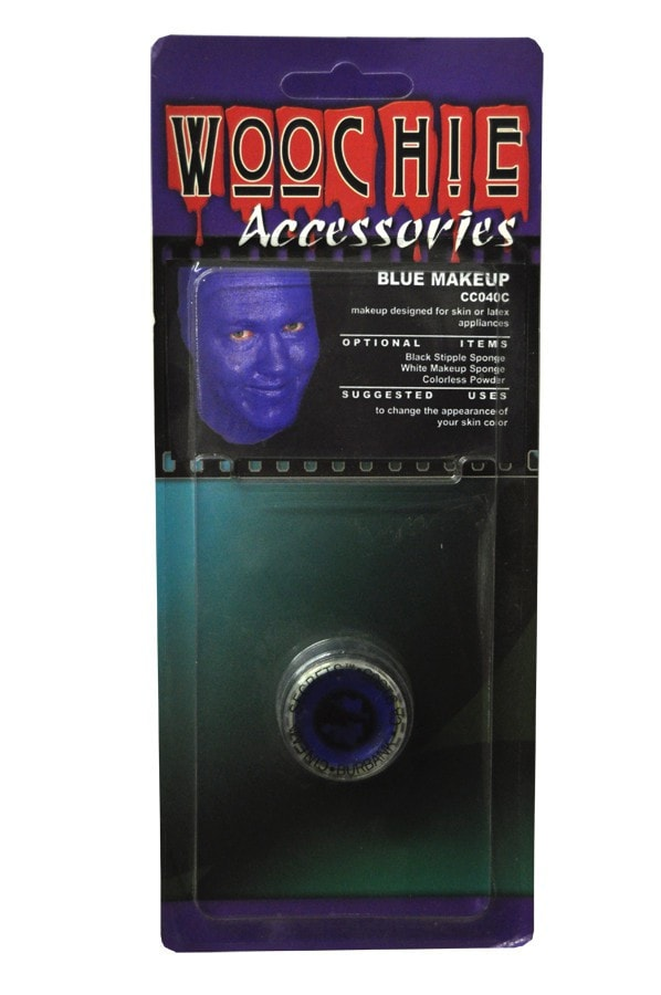 Morris Blue Mask Cover Carded - MaxWigs