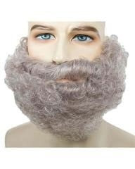 Lacey Costume Curly Beard CLEARANCE - MaxWigs