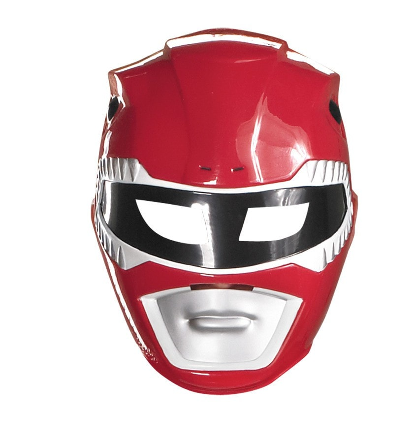 Morris Red Ranger Mask Vacuform - MaxWigs