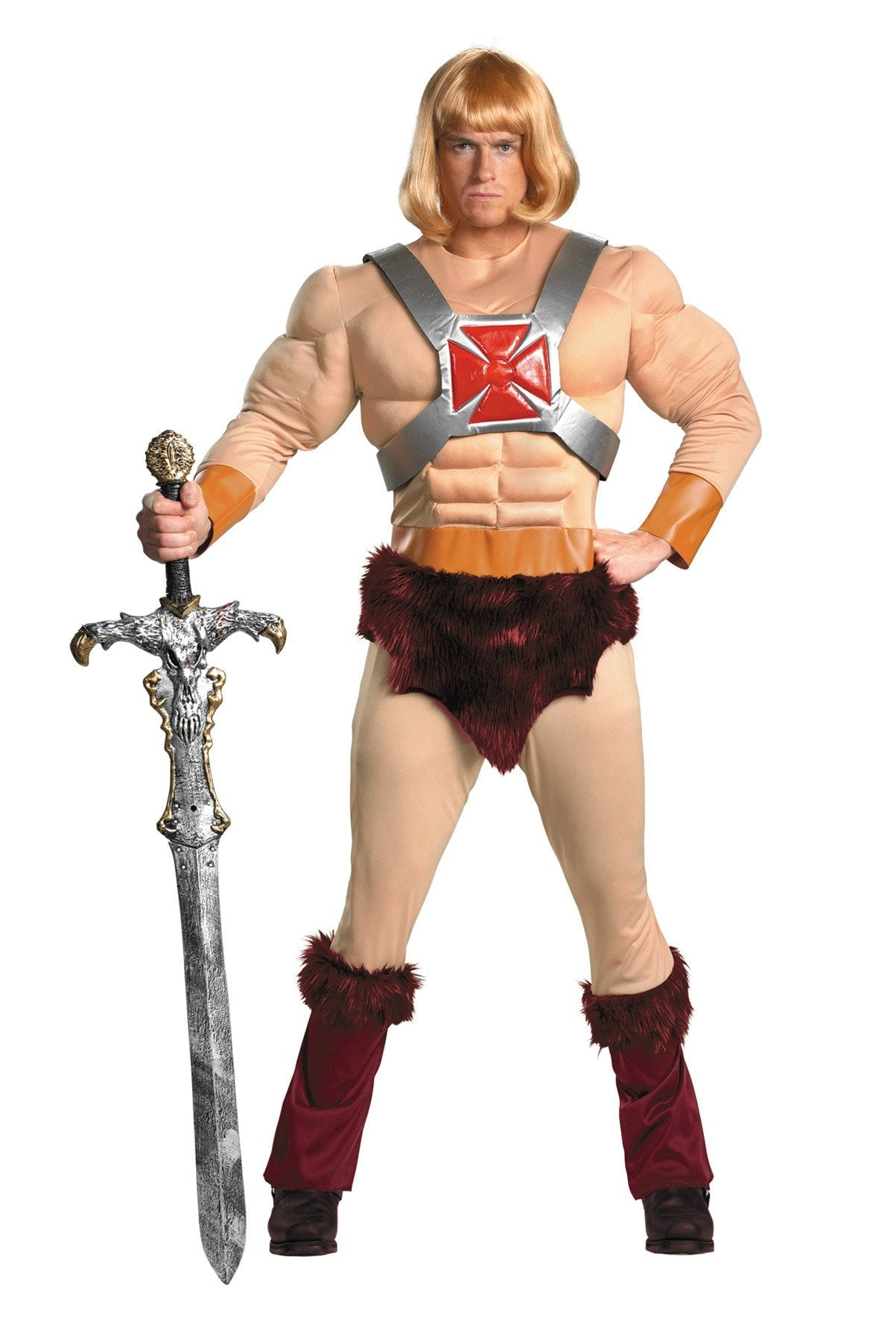 Morris He-man Classic Muscle Adult 52 - MaxWigs