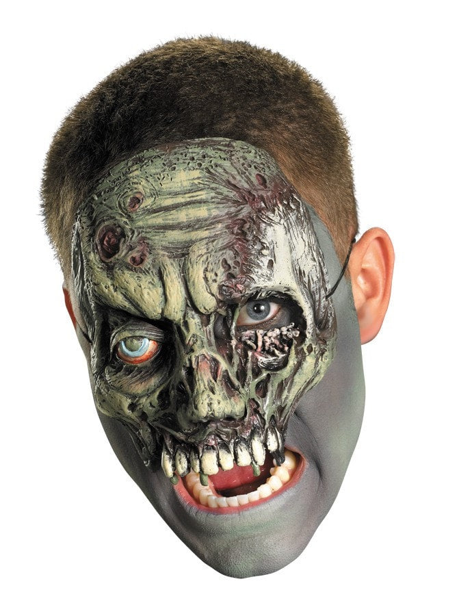 Morris Chinless Walking Zombie Mask - MaxWigs