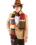 Morris Doctor Who 4th Doctor Scarf 6 foot - MaxWigs