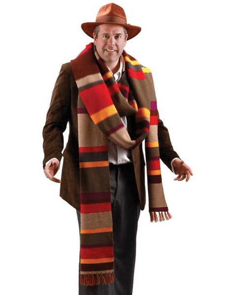 Morris Doctor Who Long Scarf - MaxWigs
