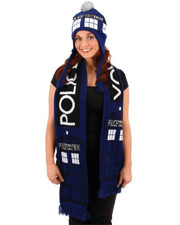 Morris Doctor Who Tardis Scarf - MaxWigs
