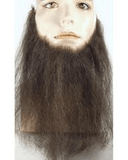 "Lacey Costume 10"" Long Human Hair Full Face Beard Duck Dynasty - MaxWigs"