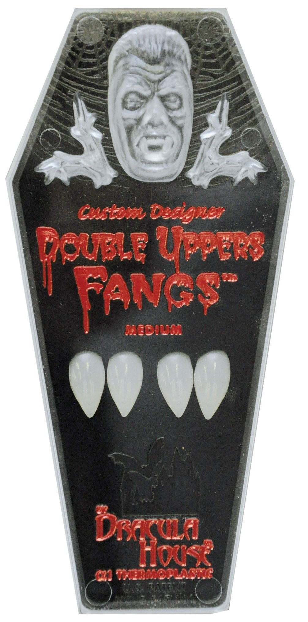 Morris Fangs Upper Double Coffin - MaxWigs