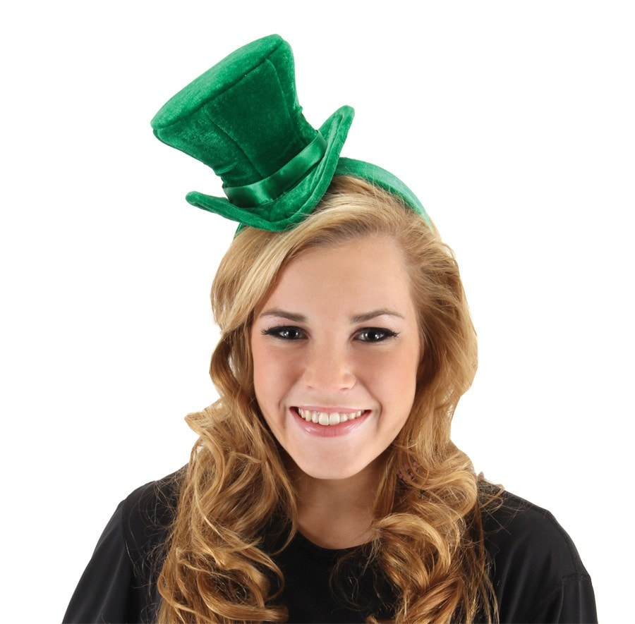 Morris Cocktail Hat Green - MaxWigs