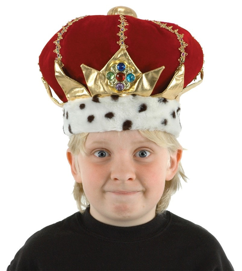 Morris Kids King Crown - MaxWigs