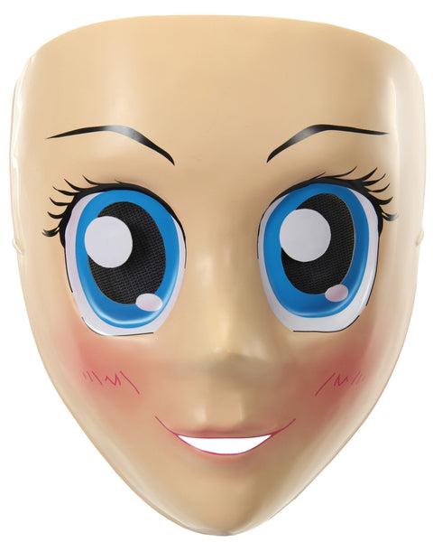 Morris Anime Mask Blue Eyes - MaxWigs