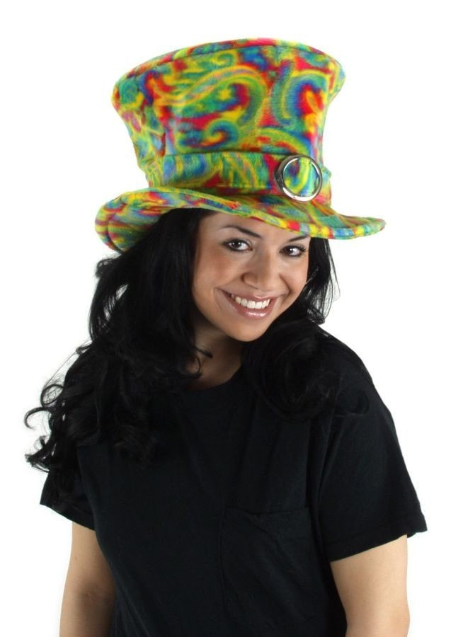 Morris Hat Madhatter Psychedelic - MaxWigs