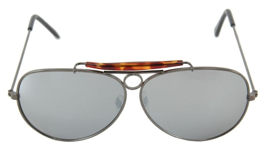 Morris Glasses Aviator Gunmetal Mirro - MaxWigs