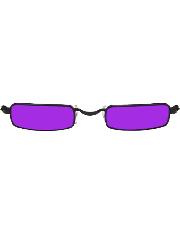 Glasses Vampire Black Purple