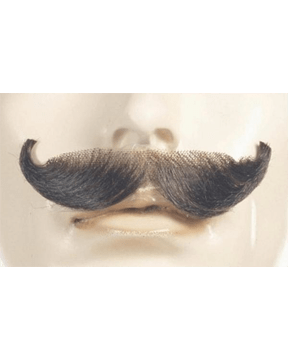 Lacey Costume English Synthetic Mustache CLEARANCE - MaxWigs