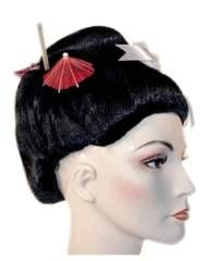 Lacey Costume Bargain Fancy Geisha Girl Japanese - MaxWigs