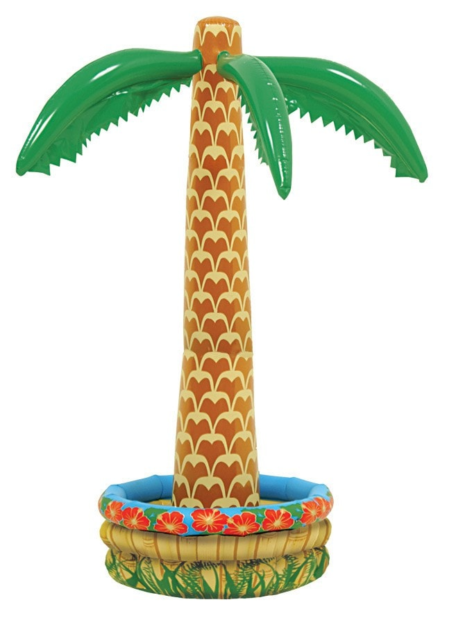 Morris Inflatable Palm Tree Cooler - MaxWigs