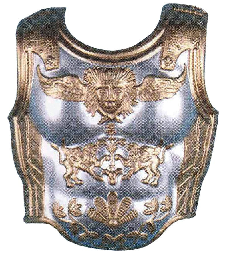 Morris Chest Plate 2 Pc Set - MaxWigs