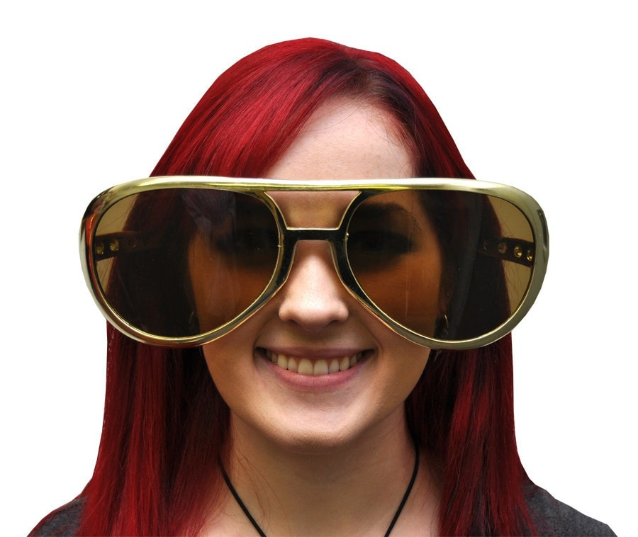 Morris Rock And Roll Glasses Jumbo - MaxWigs