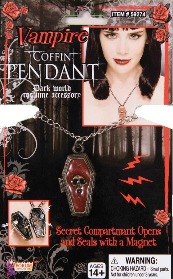 Morris Coffin Pendant - MaxWigs