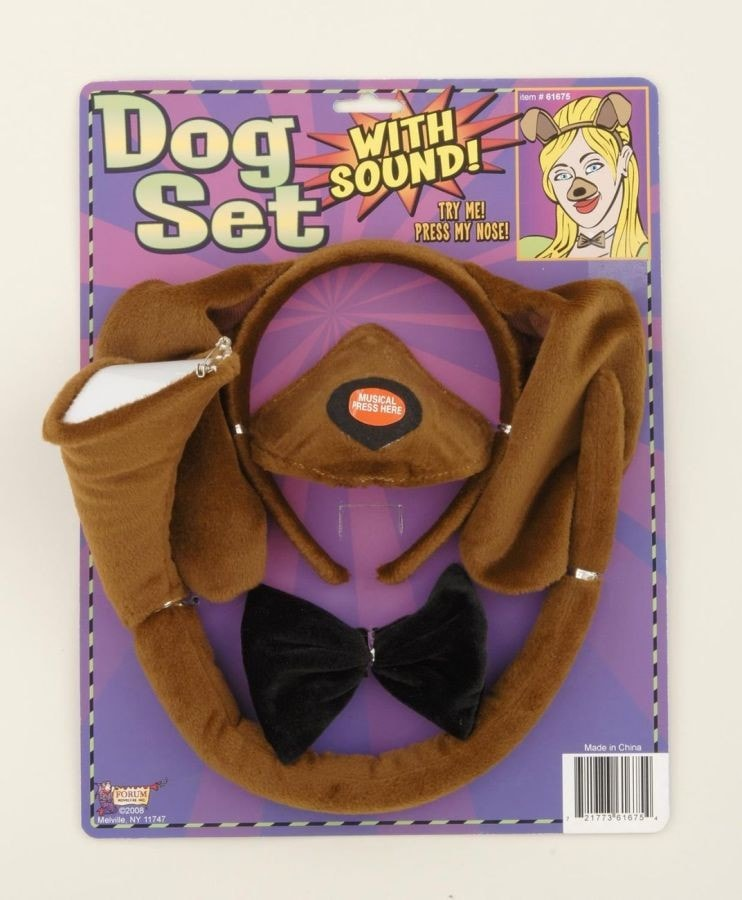 Morris Dog Set W Sound - MaxWigs
