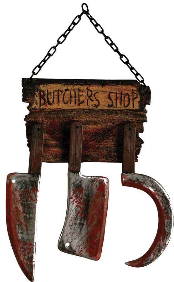 Morris Butcher Shop Sign - MaxWigs