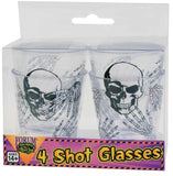 Morris Shot Glasses 4/set - MaxWigs