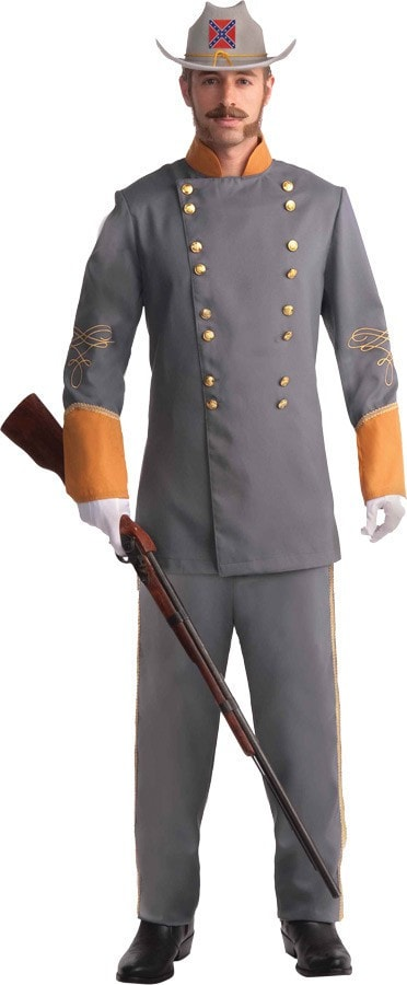 Morris Confederate Officer Adult Xl - MaxWigs