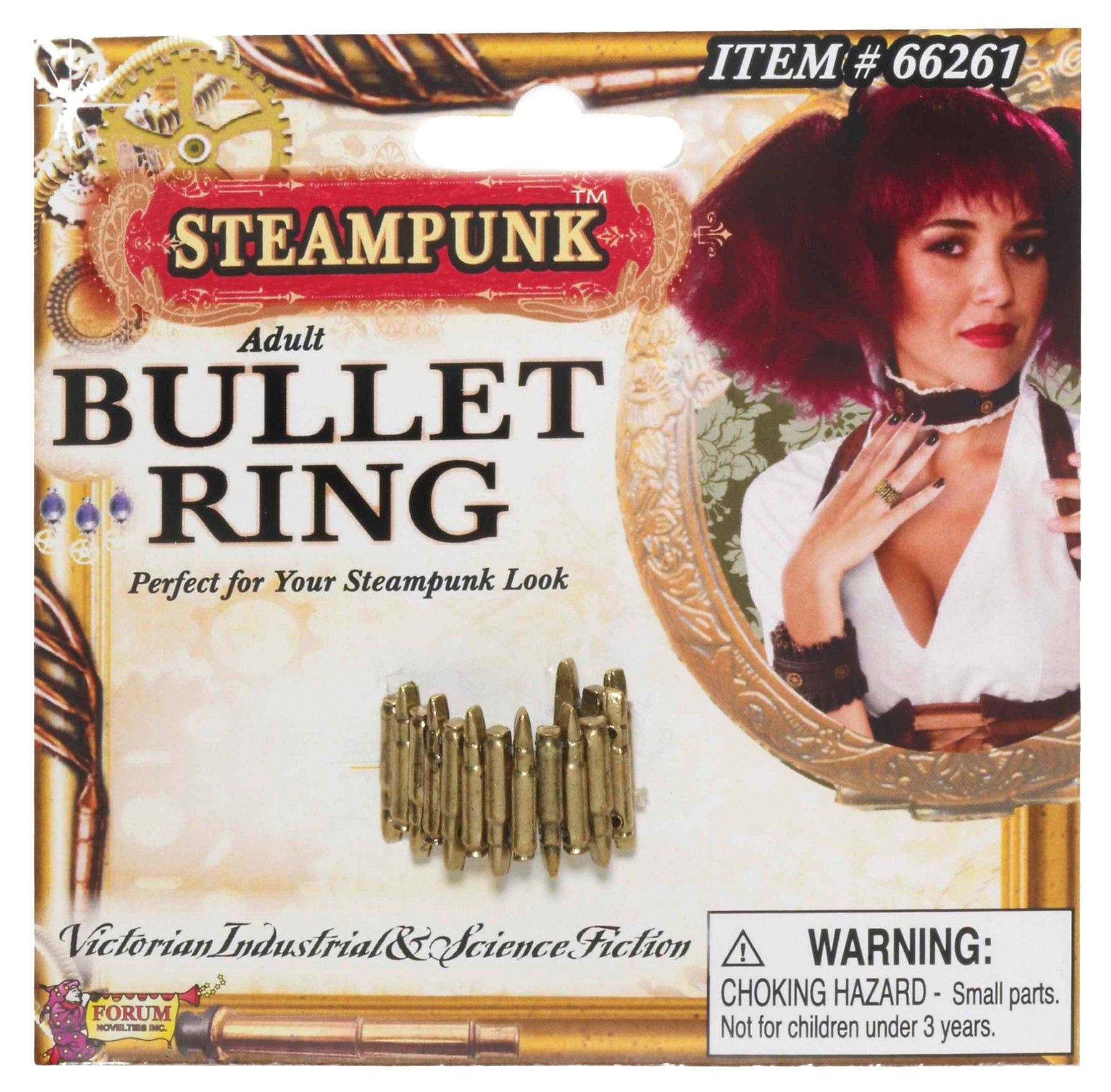 Morris Steampunk Bullet Ring - MaxWigs