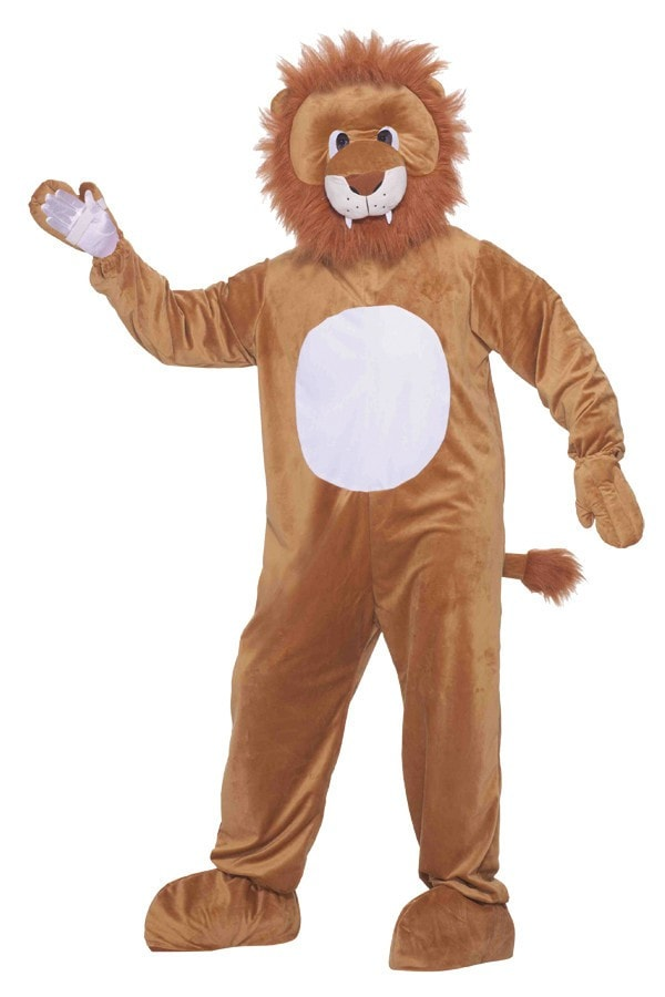 Morris Leo The Lion Mascot - MaxWigs
