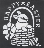 Morris Stencil Happy Easter Brass - MaxWigs
