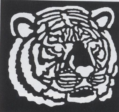 Morris Stencil Tiger Brass - MaxWigs