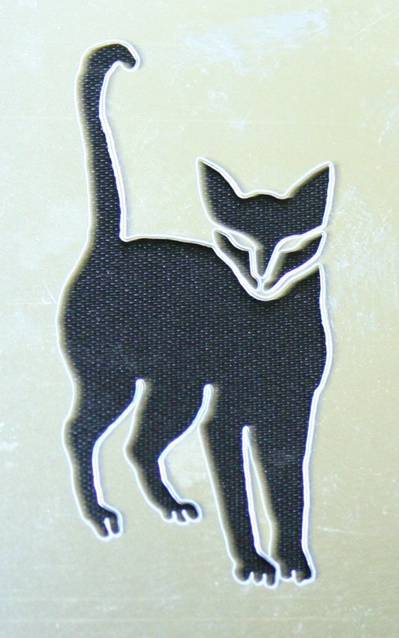 Morris Stencil Black Cat Stainless - MaxWigs