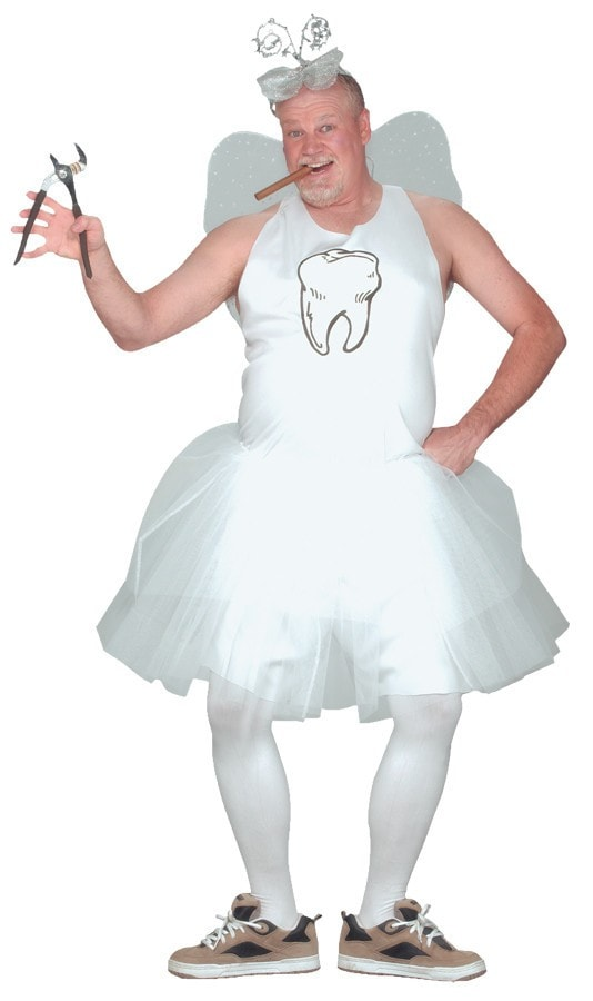 Morris Tooth Fairy Adult Costume - MaxWigs