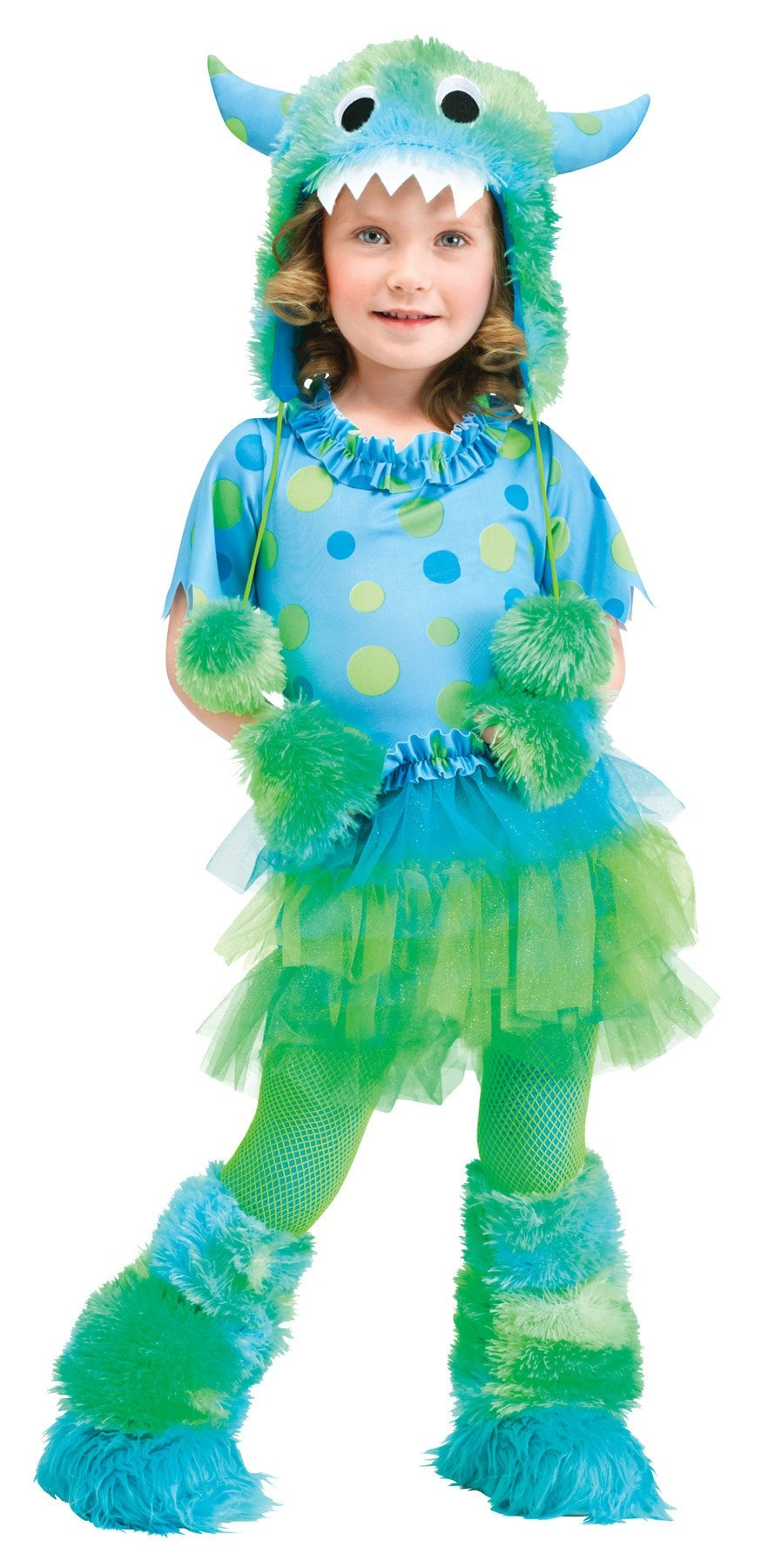 Morris Monster Miss Toddler 3t-4t - MaxWigs