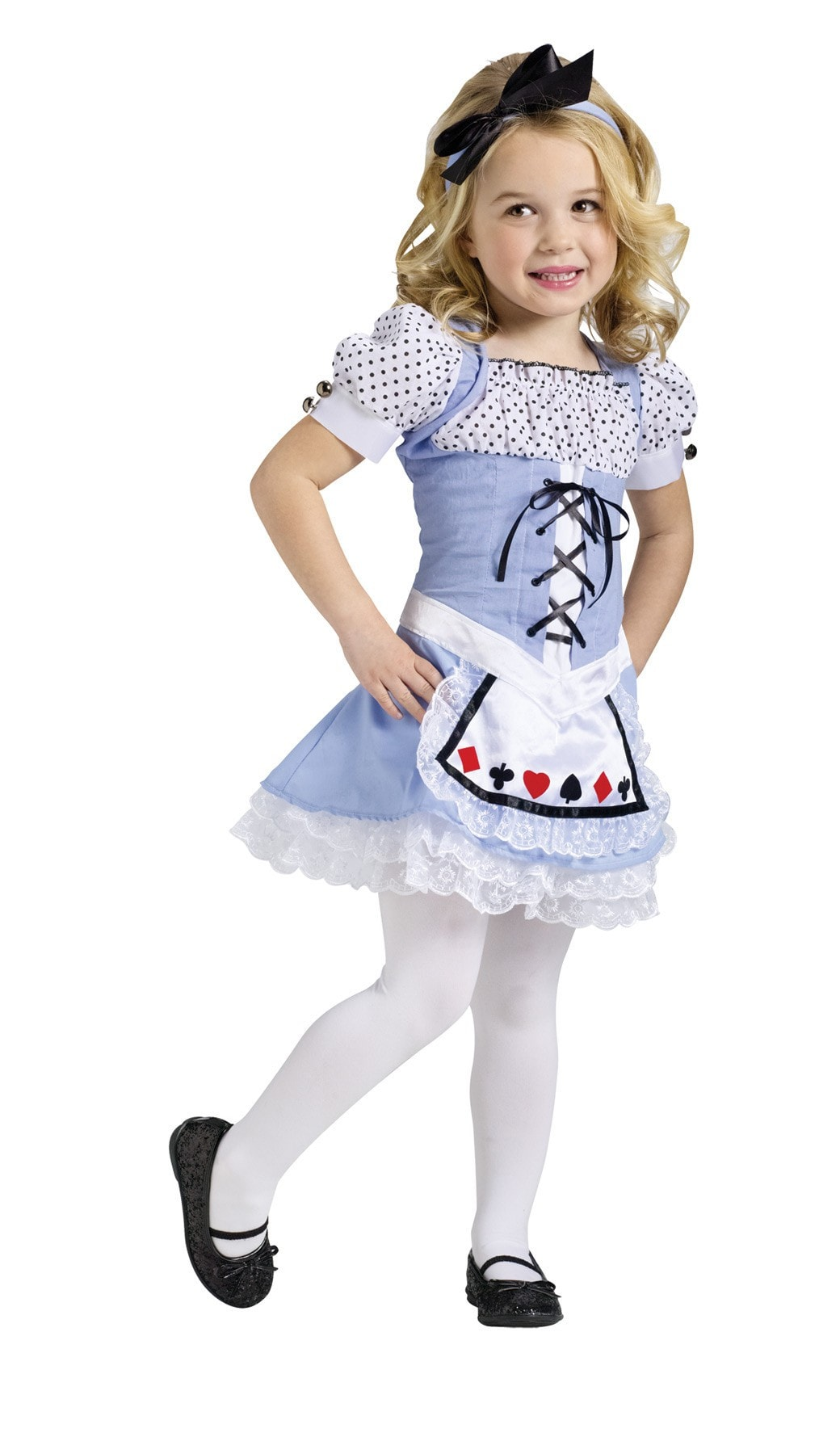 Morris Alice Child Costume 3t-4t - MaxWigs