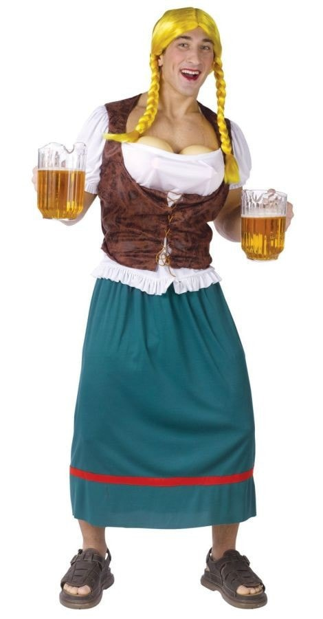 Morris Beer Girl Male Adult Std - MaxWigs
