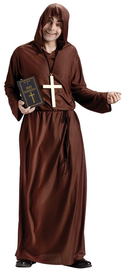Morris Drunk Monk Adult Costume - MaxWigs