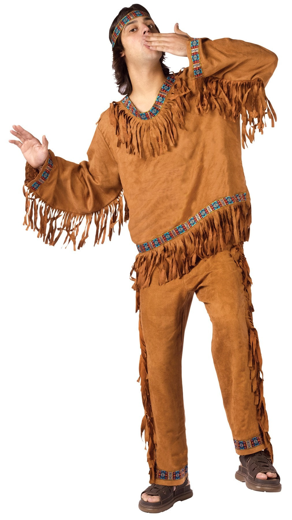 Morris American Indian Man Plus - MaxWigs
