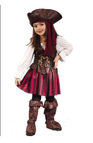 Morris High Seas Pirate Toddler Girl - MaxWigs