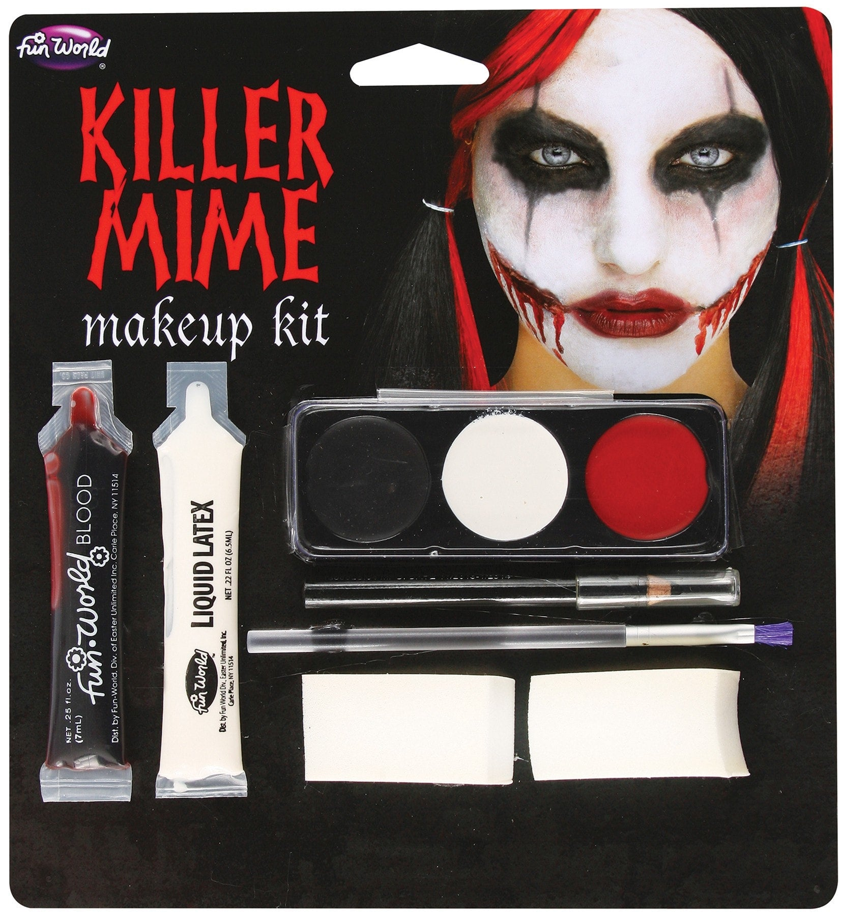 Morris Killer Mime M/u Kit - MaxWigs