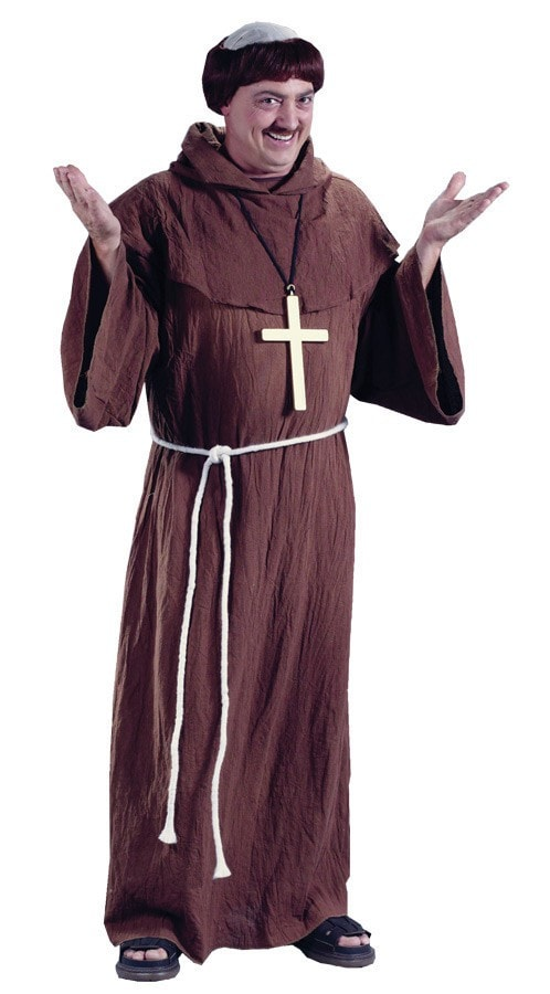 Morris Medieval Monk Adult - MaxWigs