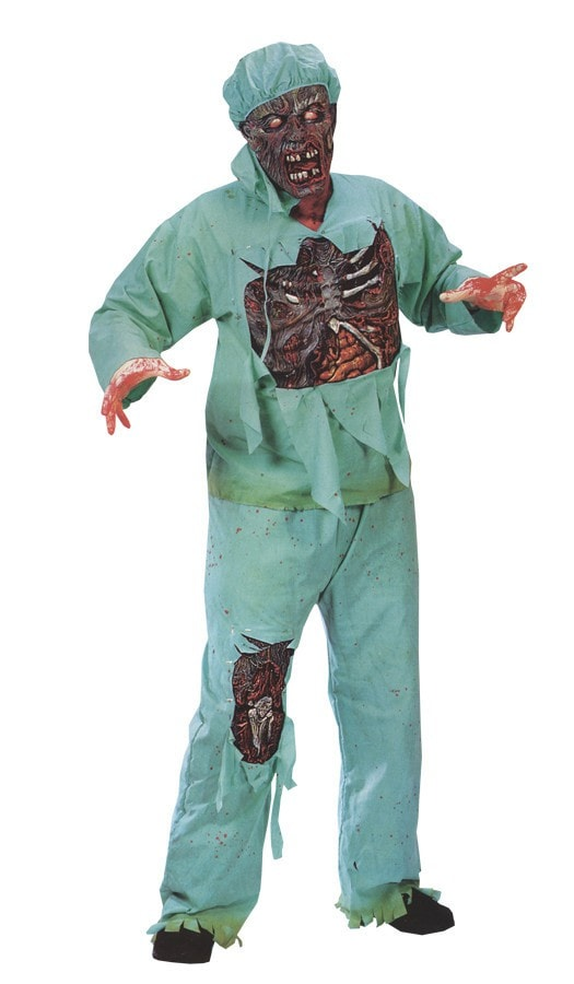 Morris Zombie Doctor Adult Std - MaxWigs