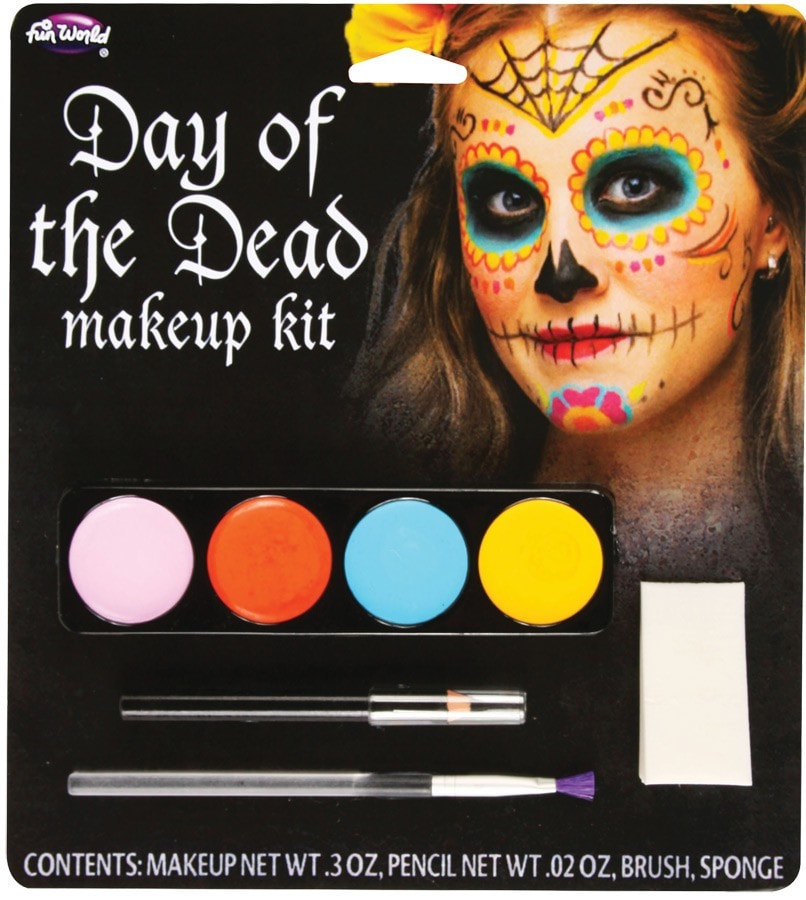Morris Day Of The Dead M/u Kit Female - MaxWigs